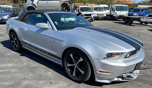 FORD MUSTANG CABRIO - 3.7i V6 305LE - FULL OPTION - 07/2012
